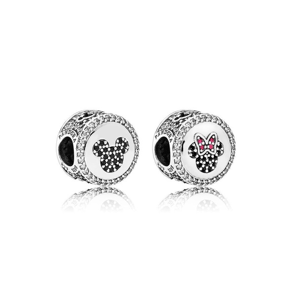 461e77ab7 Pandora Jewelry | Disney Mickey Minnie Sparkling | Poshmark
